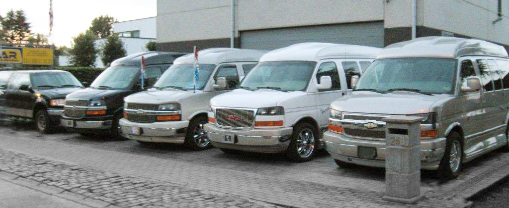 Chevrolet tweedehands vans